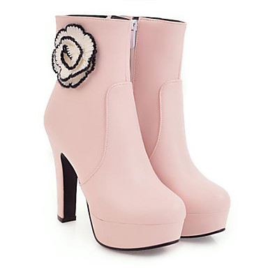 en Automne Talon Mi Blanc mollet Bottes Bottes Mode Couture hiver la à Bout pointu Dentelle 06770484 Bottier Femme Polyuréthane Noir Bottes Rose Chaussures 6wqxzTTE