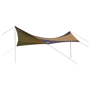 DesertFox® Ao ar livre Abrigo e Lona Encerada Abrigo para Acampamento Prova-de-Água Á Prova-de-Chuva Filtro Solar Proteção UV Poste Um Quarto Única Camada 2000-3000 mm Barraca de acampamento para