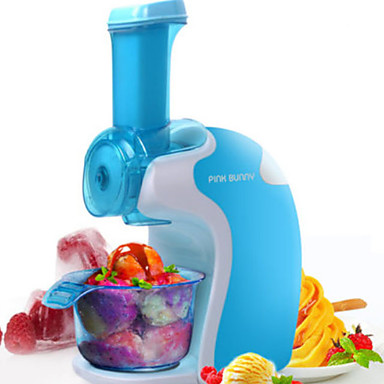 Ice Cream Makers New Design PP / ABS+PC Ice Cream Makers 220-240 V 200 W Kitchen Appliance