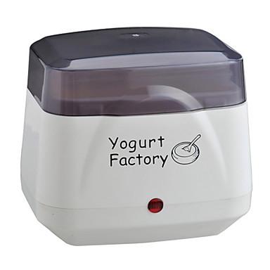 Producător de iaurt Model nou / Complet automat Oțel inoxidabil / ABS Mașină pentru iaurt 220 V 8 W Tehnica de bucătărie