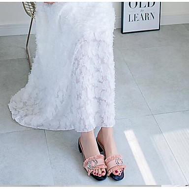 Sandales Satin Confort Femme Eté Talon Rose Basique Bottier 06770666 Escarpin Noir Chaussures nw5YYAZqS