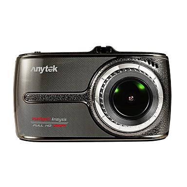 abordables DVR de Coche-Anytek G66 1080p Visión nocturna / Lente dual DVR del coche 170 Grados Gran angular 3.5 pulgada IPS Dash Cam con Visión nocturna /