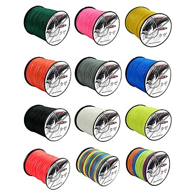 cheap Fishing Lines-PE Braided Line / Dyneema / Superline Fishing Line 500M / 550 Yards 80LB 70LB 60LB 0.1-0.5 mm Jigging Sea Fishing Fly Fishing / Bait Casting / Ice Fishing / Spinning / Jigging Fishing