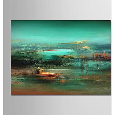 Hang-pictate pictură în ulei Pictat manual - Abstract / Peisaj Modern pânză