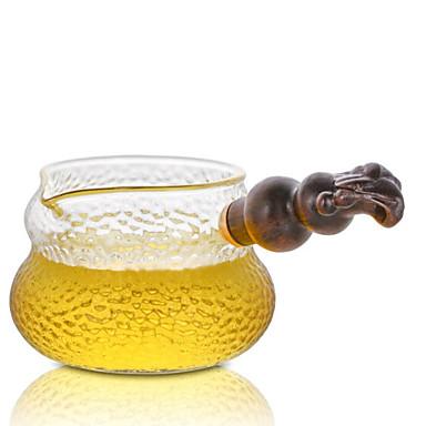 sticlă / Lemn Rezistentă la căldură / Ceai neregulat 1 buc Strecurătoare Ceai / ceainic