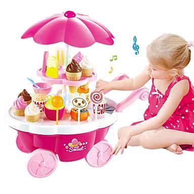 Joacă Înghețată / Magazin de dulciuri Carcasă de plastic Preşcolar Cadou 39 pcs