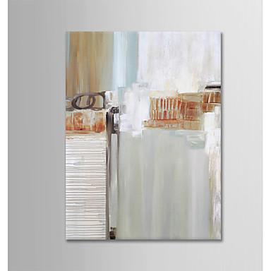 Hang-pictate pictură în ulei Pictat manual - Abstract Modern Fără a cadru interior / Canvas laminat