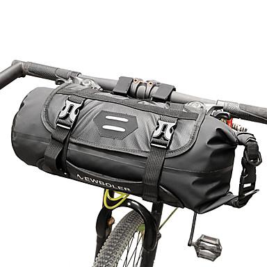 ROSWHEEL 3-7 L Genți Ghidon Bicicletă Impermeabil, Ajustabile, Compact Geantă Motor TPU Geantă Biciletă Geantă Ciclism Ciclism / Dungi reflectorizante