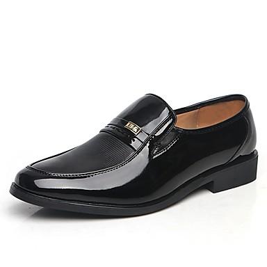 Bărbați Pantofi Imitație Piele Vară Confortabili Mocasini & Balerini Negru