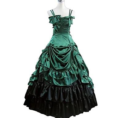 Classic Lolita Rococo Baroque Dress Masquerade Party Prom ...