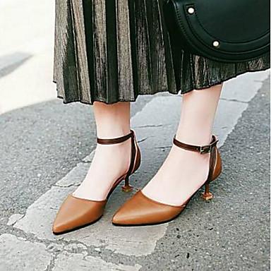 à Cône Talon Talons Noir Chaussures Polyuréthane Chaussures 06796930 Basique Printemps Escarpin Confort Femme Jaune Rose Bqvz0wzf