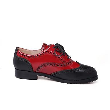 Bleu Confort Cuir Printemps Chaussures 06830923 Bottier été Talon Femme Basket Nappa Rouge qwvX1wWH