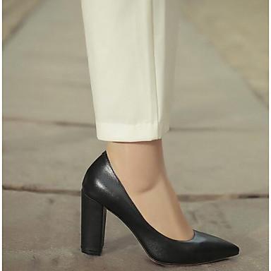 06840456 Bottier Femme Confort Noir Cuir Talon Basique Chaussures Nappa à Chaussures Printemps Talons Escarpin Bn4OBq