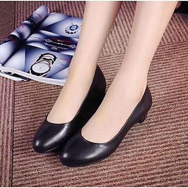 Bout Nappa Bas Chaussures Talon Bateau Cuir Noir 06774385 Femme Chaussures été A Bride Confort Arrière Printemps fermé wFfq1xqC