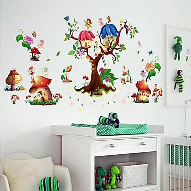 Dekorativne zidne naljepnice / Frižider Naljepnice - Zidne naljepnice / 3D zidne naljepnice Pejzaž / 3D Dječja soba