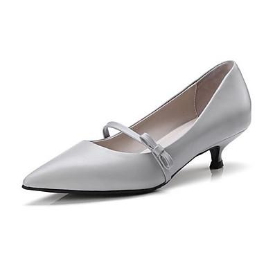 Noir Femme Talon Nappa Cuir Gris Printemps Talons Chaussures Confort 06831425 Aiguille Blanc à Chaussures 1Zp1Px6
