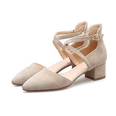 Chaussures Bottier Noir Beige Talons Daim Confort été Chaussures Femme Talon Printemps 06840553 à HXzxg