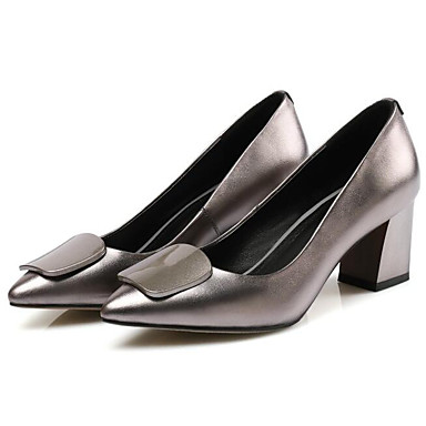 Talons Chaussures Nappa Argent Talon Rouge Chaussures Printemps Confort Cuir Femme à 06810041 Bottier A1nBfqd0