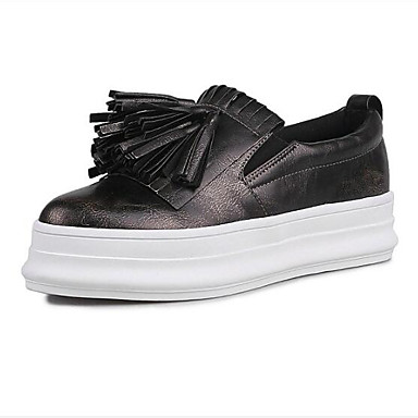 Noir Printemps 06831918 Chaussures Femme Chaussons Creepers Bout fermé Eté Cuir Nappa Blanc D6148 et Confort Mocassins t6qHx4wqZ