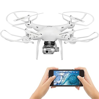 d64211951cf0 RC Drone X6 RTF 4CH 6 Axis 2.4G With HD Camera 1080P 5.0MP RC Quadcopter  One Key To Auto-Return   Headless Mode   Access Real-Time Footage RC  Quadcopter ...