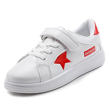 Dječaci Cipele PU Jesen Udobne cipele Sneakers za Djeca Crvena / Crno-bijeli / Bijela i zelena