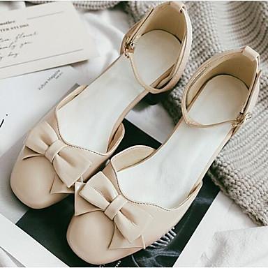 à Basique Printemps 06811297 Beige Talons Talon Femme Chaussures Escarpin Noir Polyuréthane Bottier Jaune Automne Confort Chaussures a8xRq4f