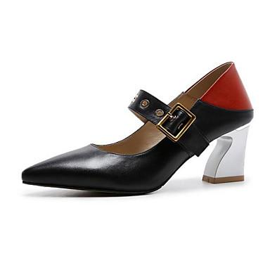Daim Talon Chaussures Blanc 06833198 Noir Confort Talons Chaussures à Bottier Hiver Femme xwH05qRF