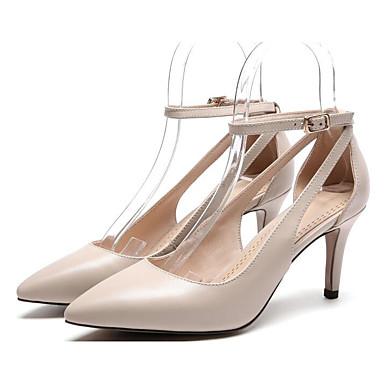 Printemps Confort Noir Talons Basique Nappa 06794625 à Femme Aiguille Cuir Amande Talon Automne Escarpin Chaussures Chaussures q4nt0X