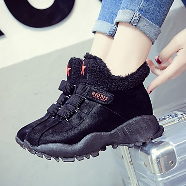 Bout rond Chaussures Basket Confort Marche Plat 06833533 Talon Automne Femme hiver Nappa Cuir Noir vCxwYpqP