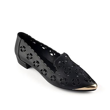 06831042 Rose Femme Ballerines Noir été Nappa Cuir Chaussures Plat Printemps Confort Talon AxUvPxw