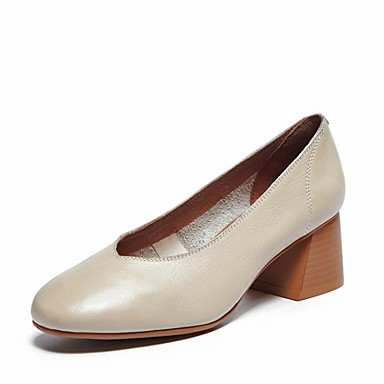 Marron Cuir Noir Chaussures à Talon Confort Beige 06801436 Printemps Bottier été Chaussures Talons Nappa Femme a1wBO4qq