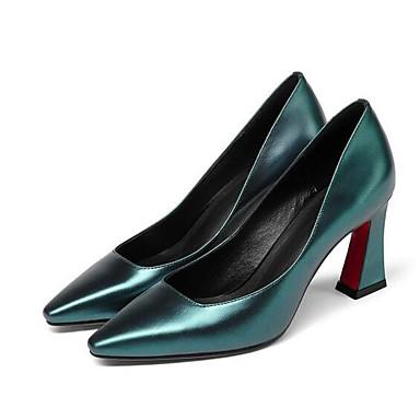 Vert Noir Chaussures Talons Talon Or Cuir à Nappa Chaussures Confort 06840803 Aiguille Femme Printemps CgFw7Pxq