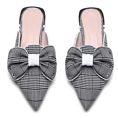 Plat Talon de Chaussures Jaune amp; Femme Cuir Confort Croûte Sabot Mules Eté Printemps Blanc 06833558 fermé Bout vqEnwP1E