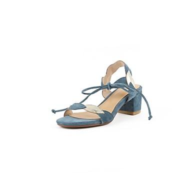 à Printemps Marron Talon Talons Amande Femme été Chaussures 06811049 Chaussures Confort Bleu Daim Bottier royal wFqgAxY1