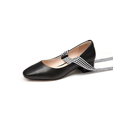 Bleu Blanc Block Printemps Nappa Femme Chaussures 06831037 Noir Cuir Heel Chaussures à Confort été Talons qSwOapPCw