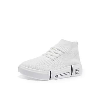 Rouge Confort Chaussures Basket élastique Tissu Noir Printemps Talon été Plat 06817166 Femme Blanc dPBqwCXP