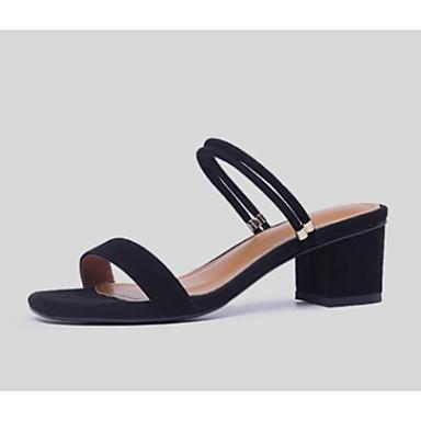 Sandales Bottier Talon 06827753 Confort Amande de mouton Eté Chaussures clair Basique Escarpin Femme Gris Peau Noir wgxBqC8na