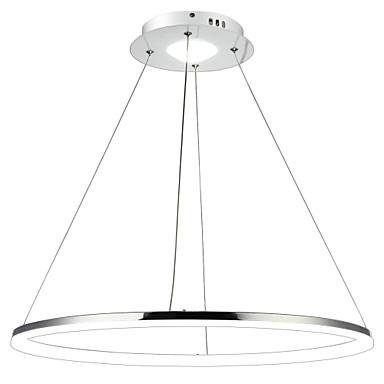 Lightinthebox Kreisförmig Pendelleuchten Moonlight Galvanisierung Metall Acryl LED 110-120V / 220-240V Wärm Weiß / Weiß / Dimmbar mit Fernbedienung LED-Lichtquelle enthalten / integrierte LED / FCC