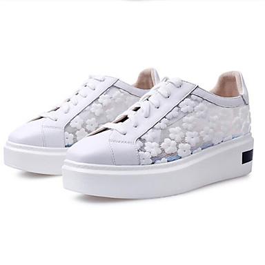 Printemps Creepers Femme Nappa 06833238 Bout Rose Cuir fermé Noir Basket Blanc Confort Chaussures Eté wxqwR0tZC