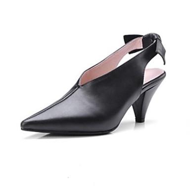 Noir Talon Rouge Sandales Cuir Bout Eté 06791253 Chaussures Nappa Confort Aiguille Femme pointu w4xqavYpn