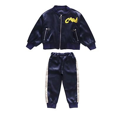 Djeca Dječaci Osnovni Jednobojni Dugih rukava Komplet odjeće