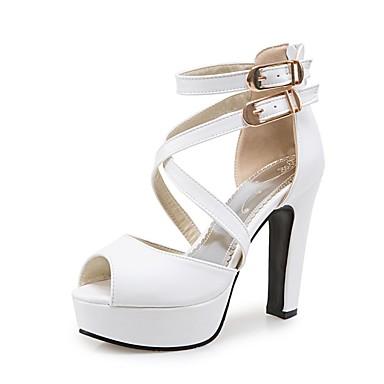 Blanc Talons Polyuréthane Talon Chaussures Bottier Noir Chaussures Confort été 06811042 Printemps Jaune à Femme 1Uwv0v
