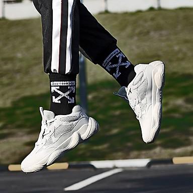 Talon Gris 06827444 Confort Femme Tissu à Chaussures Matière Automne Plat élastique Pied Noir Chaussures d'Athlétisme synthétique Course q7YqZaw
