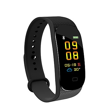 BoZhuo M5S Uita-te inteligent Android iOS Bluetooth Rezistent la apă Monitor Ritm Cardiac Măsurare Tensiune Arterială Calorii Arse Pedometru Sleeptracker Memento sedentar Ceas cu alarmă / 150-200