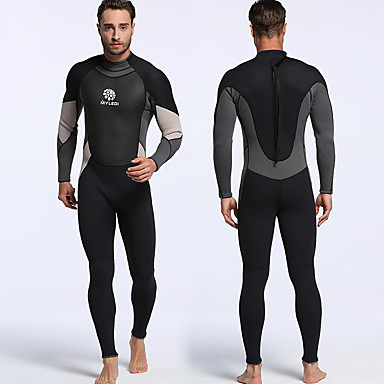 f0b2eeecc4 MYLEDI Men s Full Wetsuit 3mm Diving Suit Quick Dry
