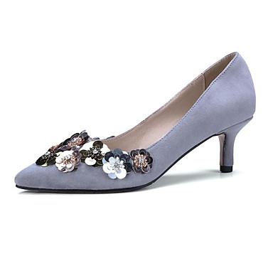 Talon Talons Gris Noir Chaussures Aiguille Printemps Rose Daim à Femme Confort 06835419 Chaussures wv0YxZqZ
