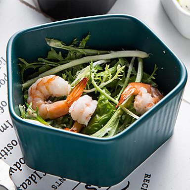 1 kom. Porculan / Drvo New Design / Heatproof / Kreativan Zdjela za posluživanje i salate / Zdjelice / Posude za serviranje, posuđe