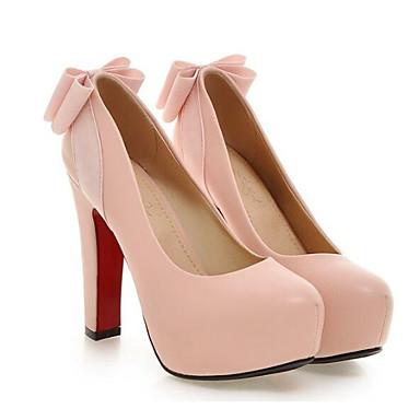 Rose Noir Talon Chaussures Basique Printemps Talons Aiguille à Femme Escarpin Polyuréthane 06834871 Blanc Chaussures wqpPxBq76