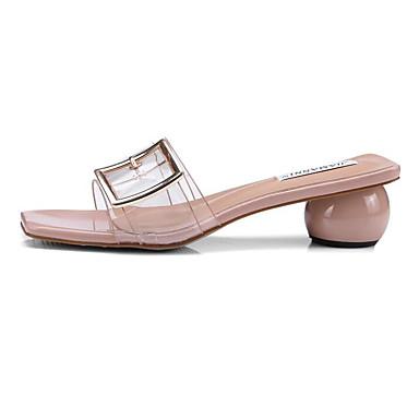 povoljno Ženske cipele-Žene Sandale Heterotipski peta Sintetika Udobne cipele Ljeto Obala / Bijela / Pink