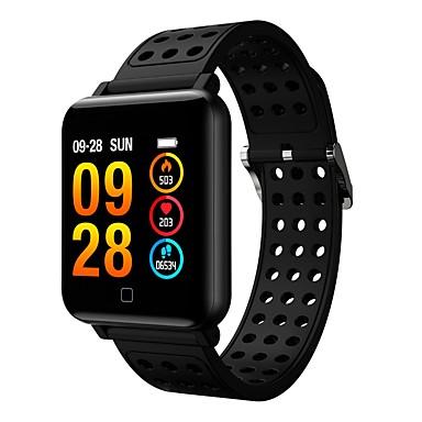 halpa Älyelektroniikka-smartwatch m19 naiset miehet sykkeen verenpaine bluetooth vedenpitävä urheilu smart bracelet android ios